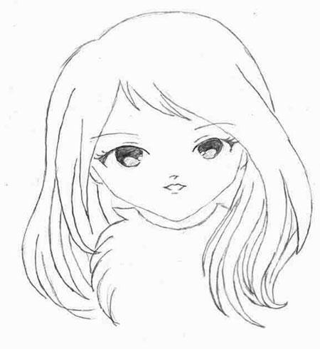 эскизы аниме: